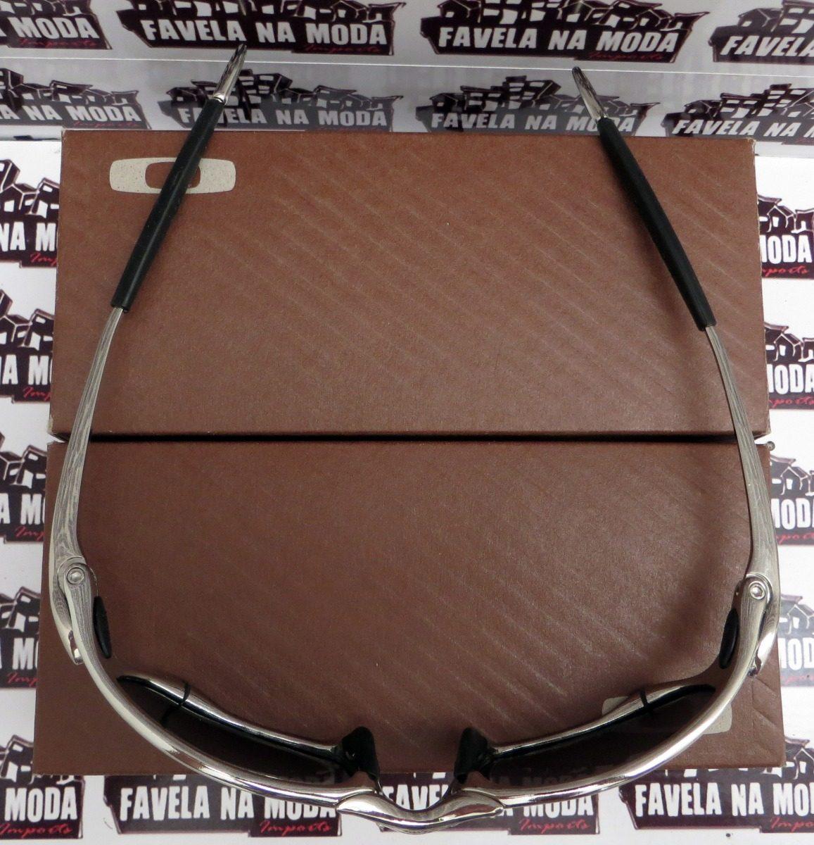 Óculos Oakley Juliet  Polished  Liquid Metal + Par De Lentes - R ... 72024b5363