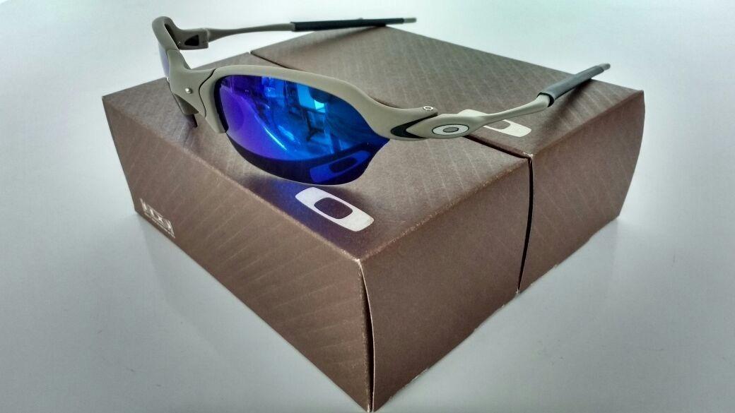 35a57a7051b95 óculos oakley juliet romeo 2 xmetal lente magic blue azul. Carregando  zoom... óculos oakley juliet. Carregando zoom.