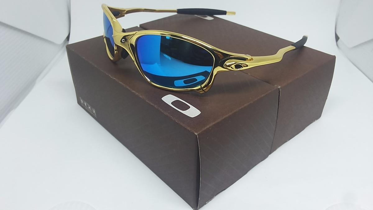 f6b83ca9bf6b6 Óculos Oakley Double Xx Squared Juliet 24k Romeo 1 2 Penny - R  120 ...