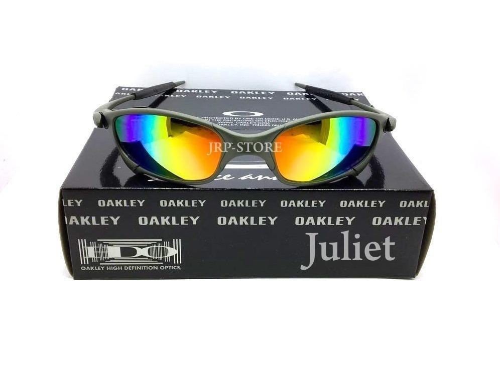 5e74ab5f96112 Oculos Oakley Juliet Arco-íris 12x S j - R  139