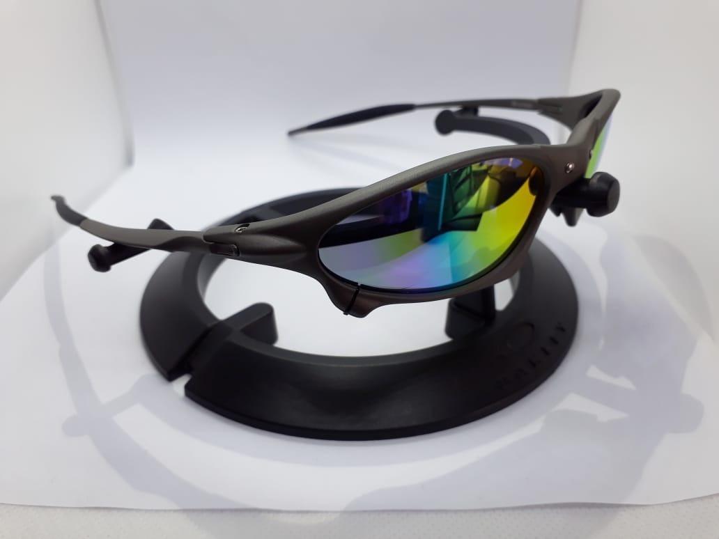 Óculos Oakley Juliet Arco-íris 24k Double X Juliet Cod0394 - R  119 ... 2b1af69c12