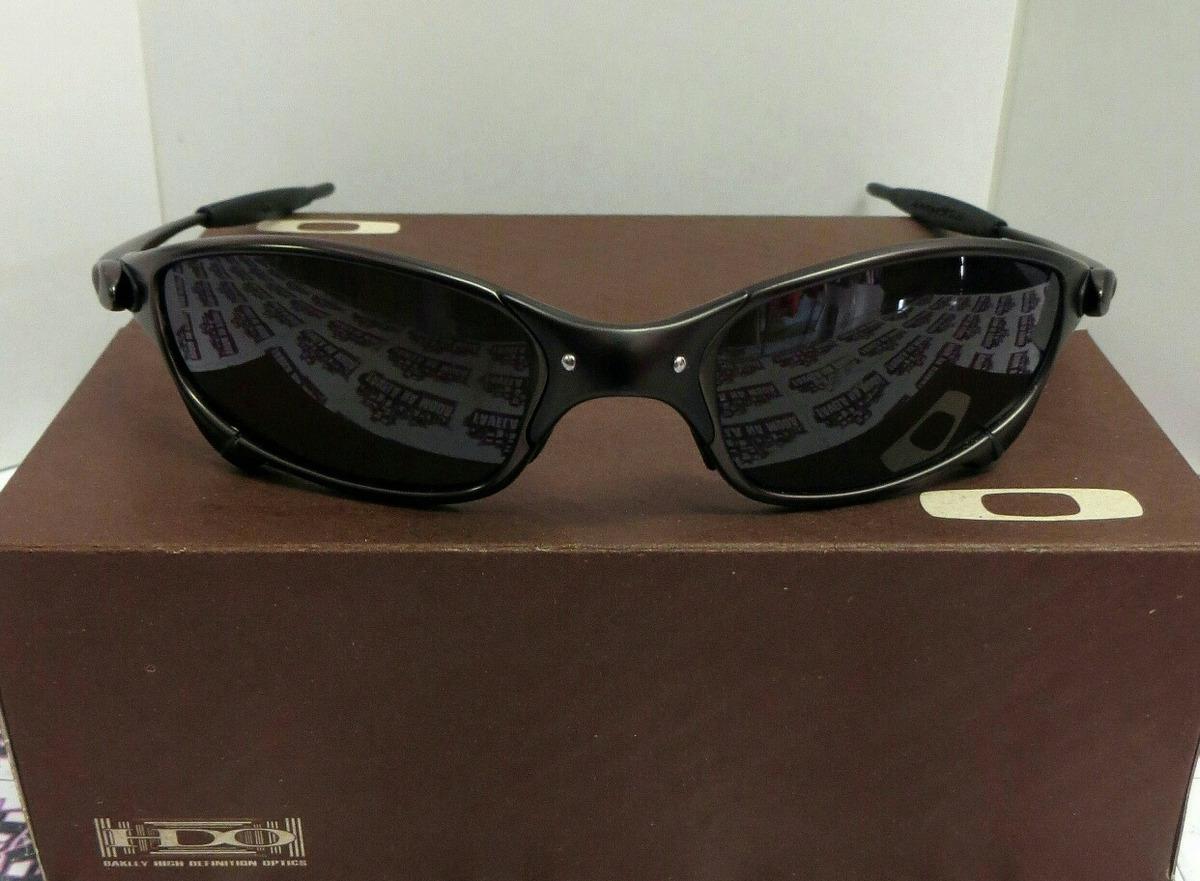 76cab7b997192 óculos oakley juliet - carbon   black   borrachinhas pretas. Carregando  zoom.