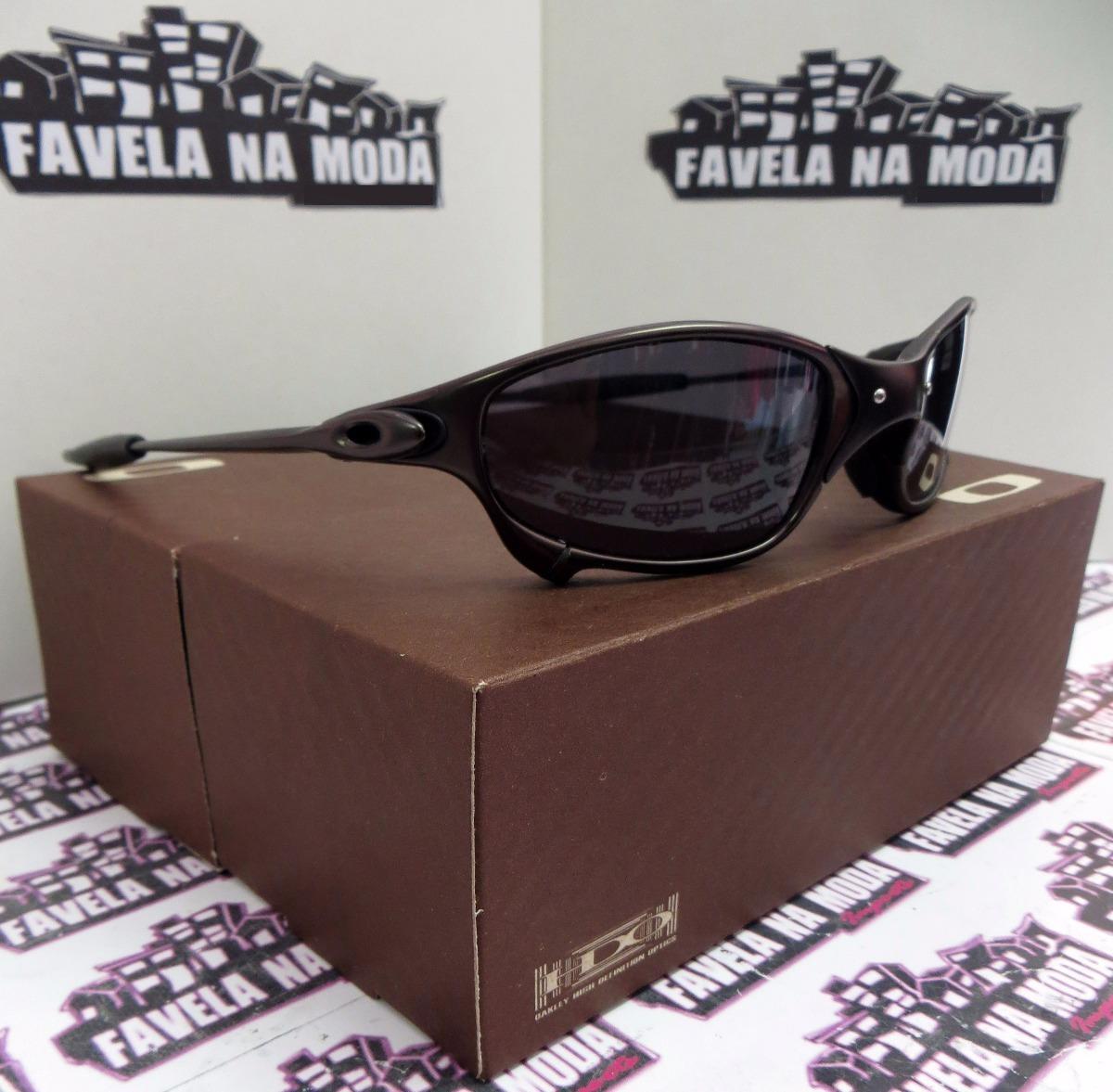 f526715c88913 óculos oakley juliet carbon   black + par de lentes. Carregando zoom.