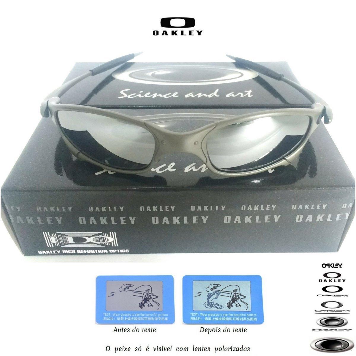 eaedc00bd147c oculos oakley juliet cinza double xx metal 24k squared. Carregando zoom.