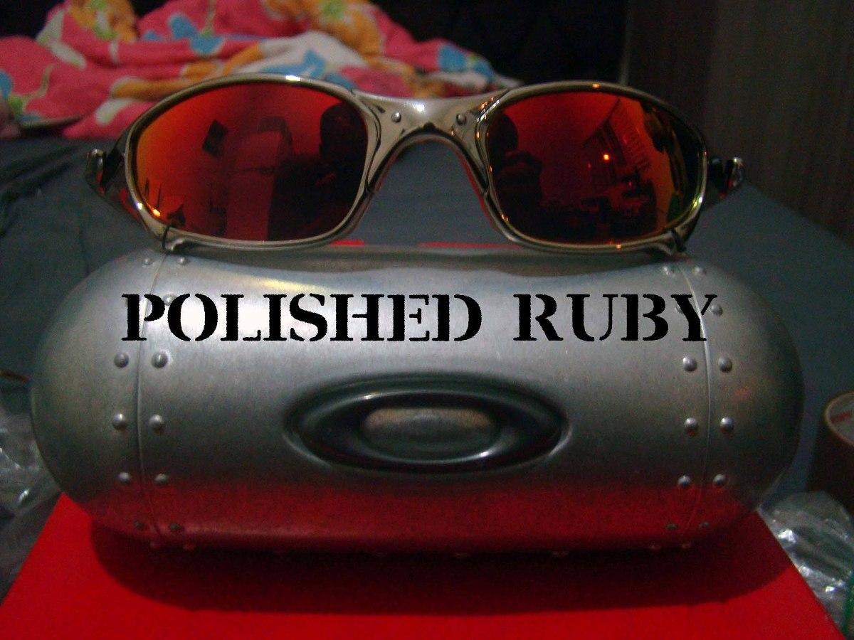 óculos oakley juliet cromado polarized + 1 lente brinde. Carregando zoom. ac25cff5f9