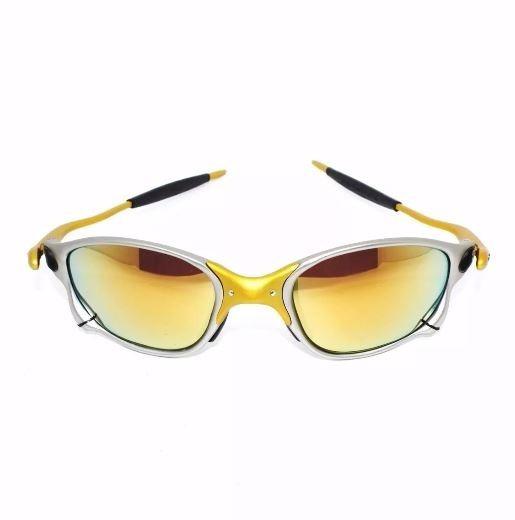 Óculos Oakley Juliet Doble 24k Gold Mega Promocao Limitada - R  80 ... 8c411b1ff8
