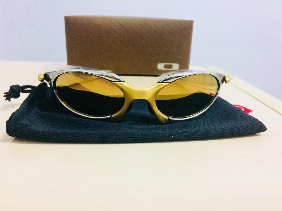 0829a1670c39c óculos oakley juliet doble 24k gold mega promocao limitada. Carregando zoom.