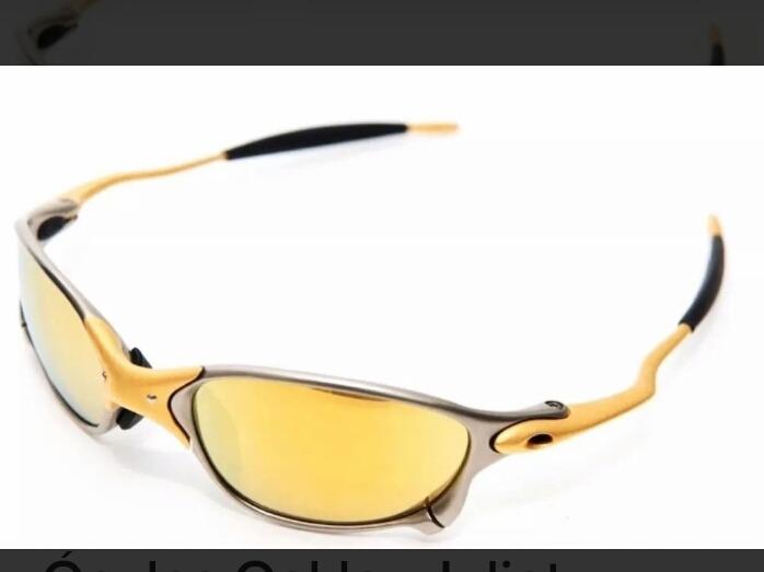 e7c61f9d6 Óculos Oakley Juliet Doúble 24k Dourada Polarizada Original - R$ 160,00 em  Mercado Livre