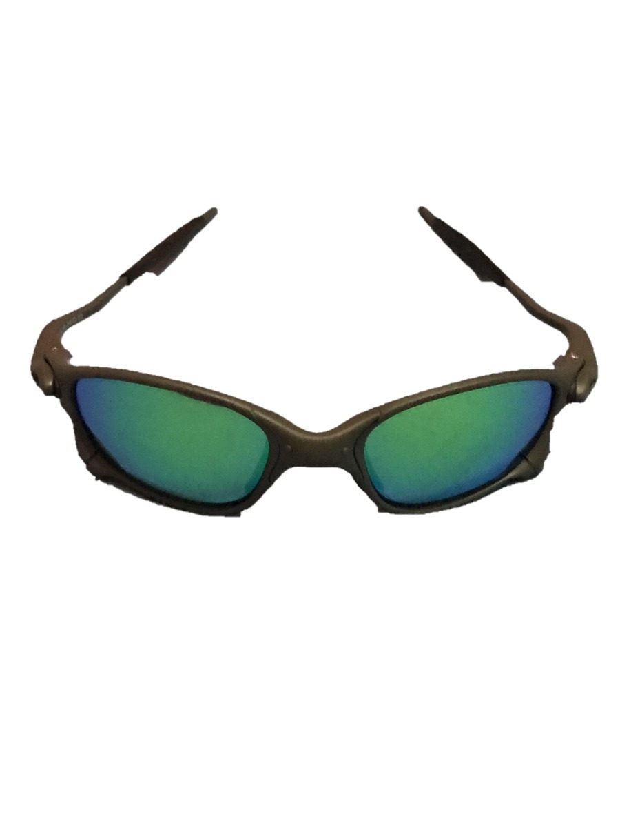 51e9998a168ad óculos oakley juliet double x metal 24k lentes green jade. Carregando zoom.