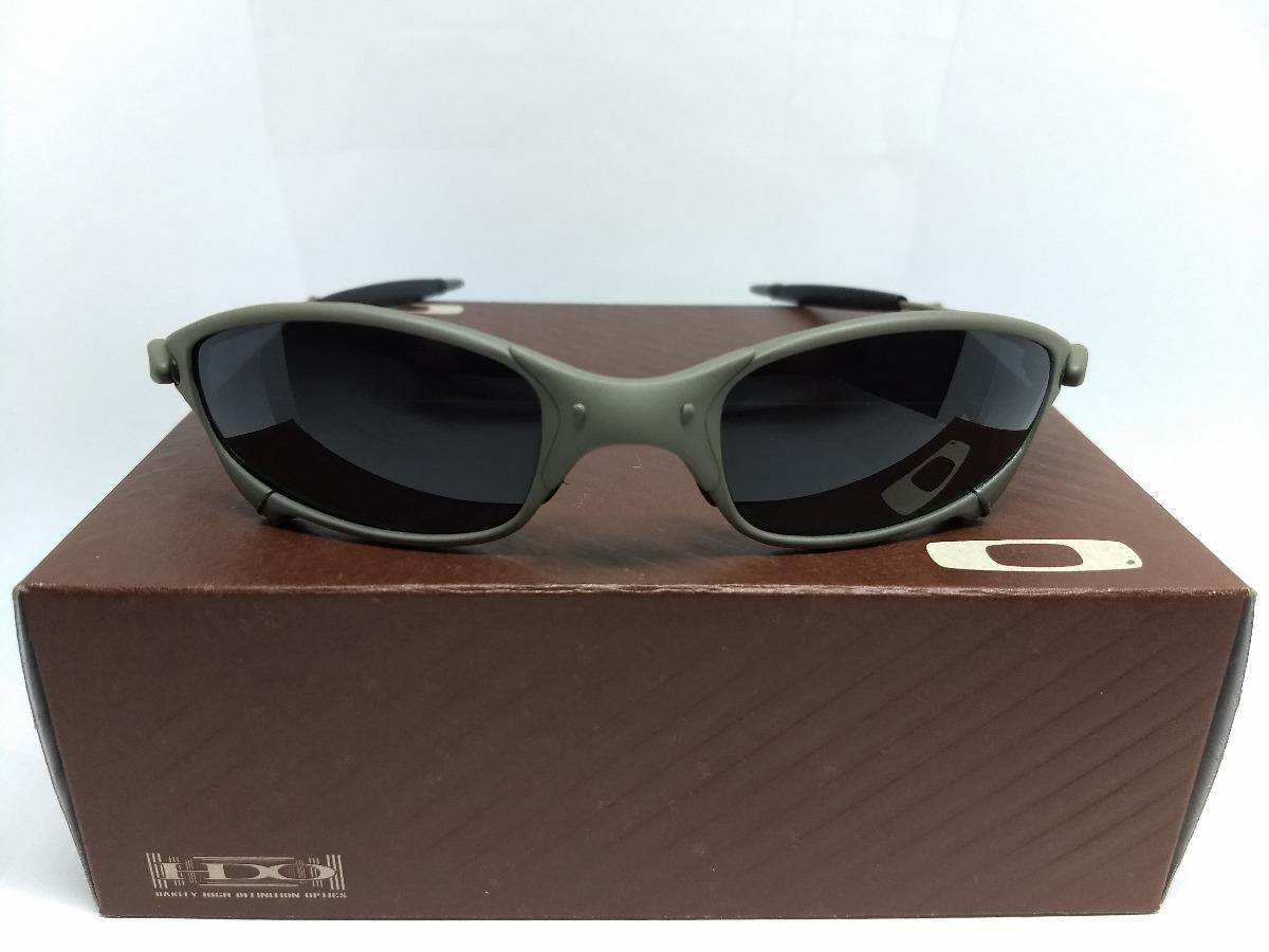 b6ed73c191af8 Óculos Oakley Juliet Double X Penny 24k Romeo 2 Lente Preta - R  120 ...