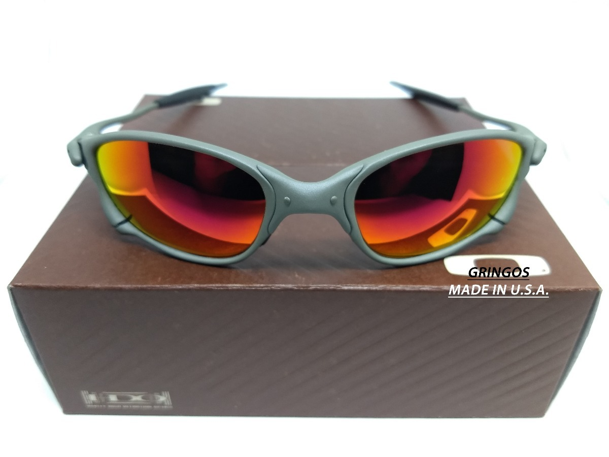 8ddc12f330c8c óculos oakley juliet double xx 24k penny romeo 1 2 squared. Carregando zoom.