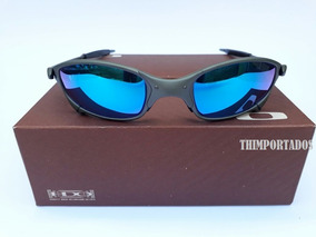 e1a4c8a25 Óculos Oakley Juliet Double Xx Squared 24k Badman Azul Bb