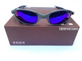 588da972d Juliet 24k Azul - Óculos De Sol Oakley Juliet no Mercado Livre Brasil
