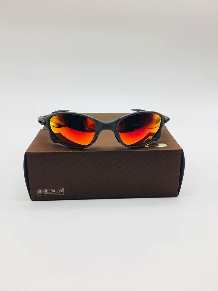 faea3f105 óculos oakley juliet doublex lentes rubi fire pronta entrega. Carregando  zoom.
