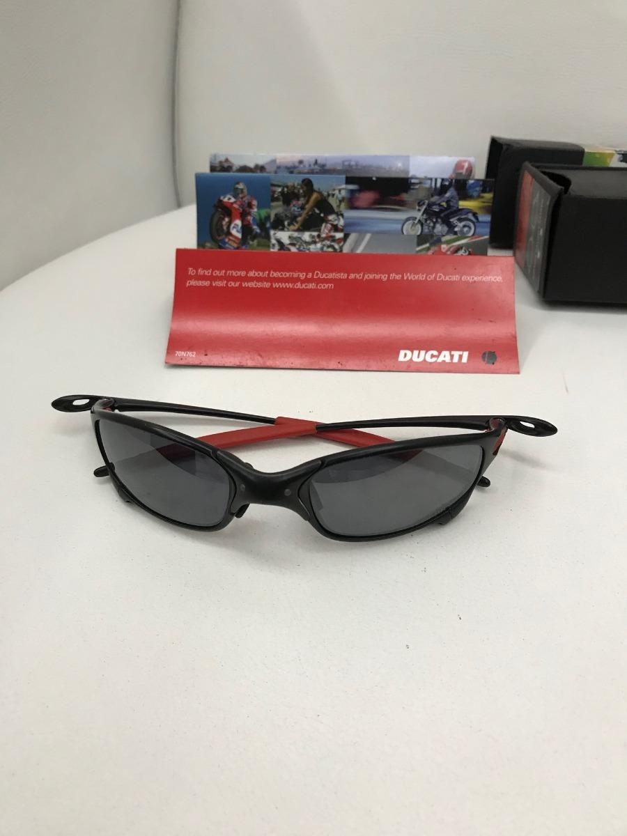 77ed6fb7c6b87 óculos oakley juliet ducati 100% original. Carregando zoom.