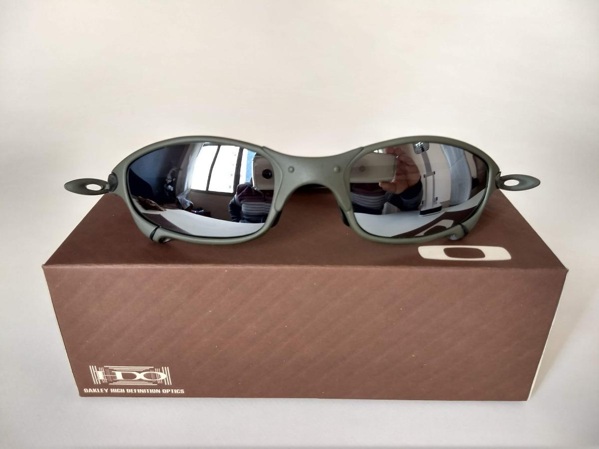 8a35b99b2 oculos oakley juliet espelhada + saquinho + caixa oakley. Carregando zoom.