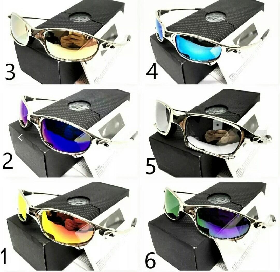 7c825d11f5867 Óculos Oakley Juliet Espelhado Foto Real - R  189,00 em Mercado Livre