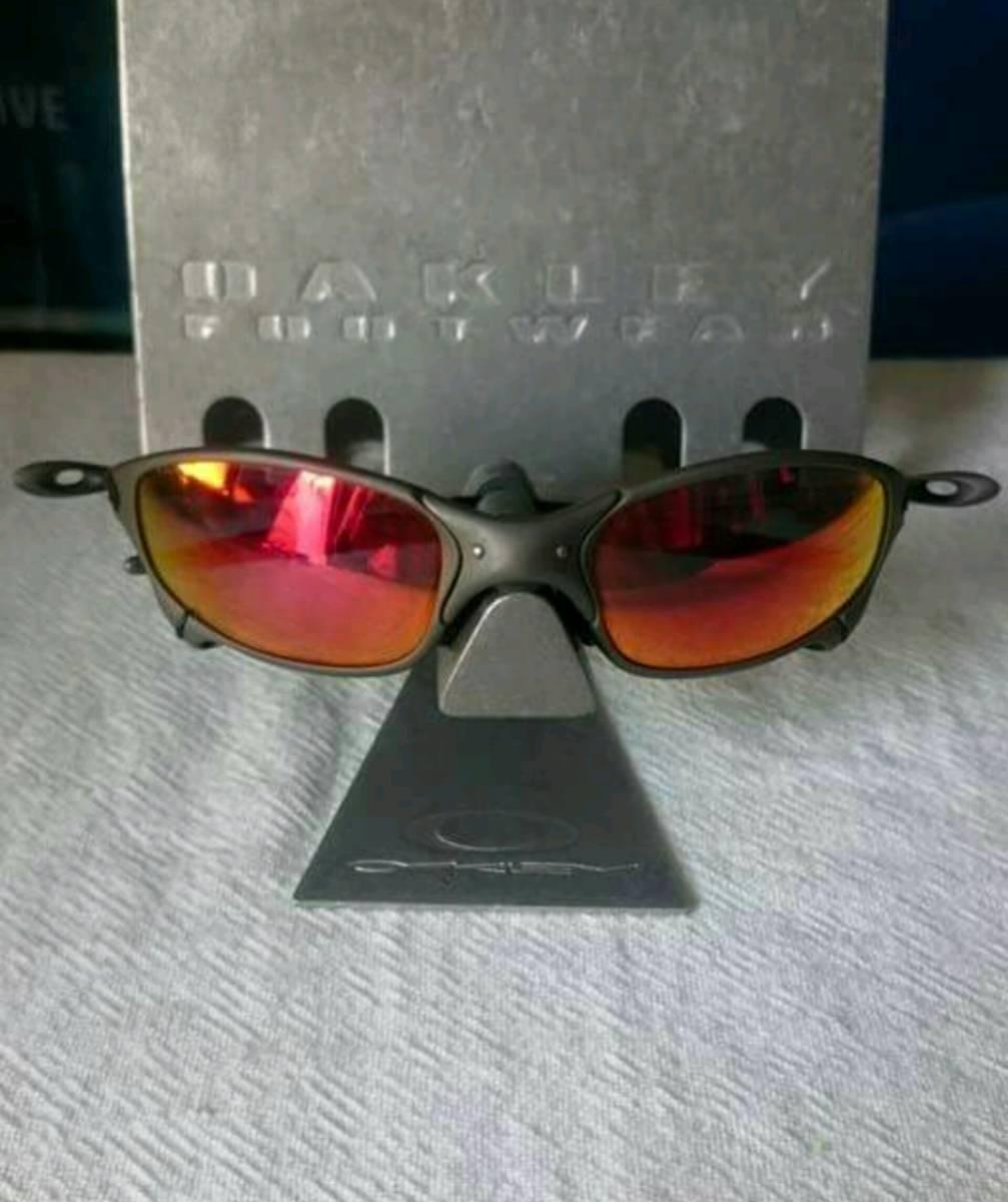 óculos oakley juliet fosco polarizado + lente brinde. Carregando zoom. c13a16392c5