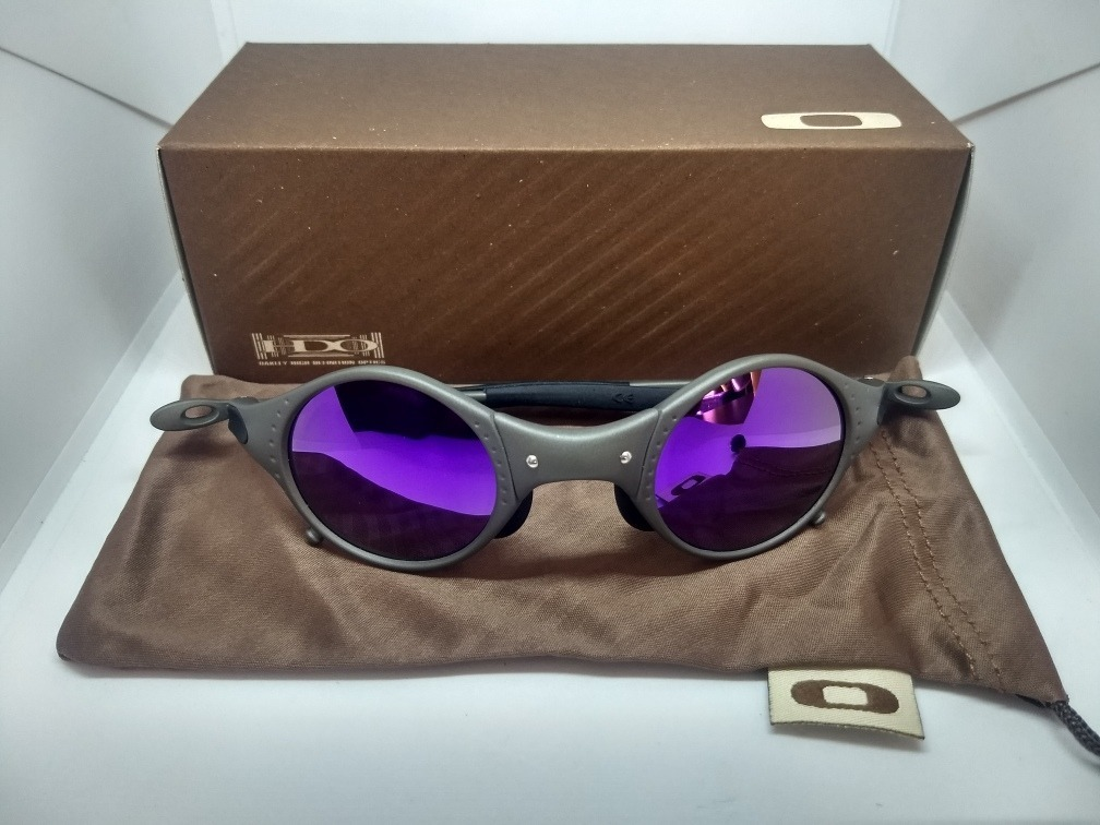 cd42a8805 óculos oakley juliet mars xmetal lente violeta roxa promoção. Carregando  zoom.