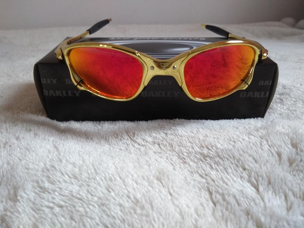24d05c6e7f152 oculos oakley juliet masculino dourado - barato. Carregando zoom.