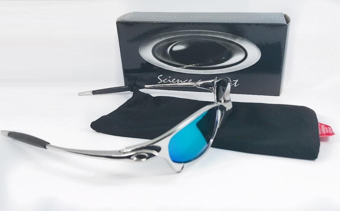 3240f79acbabd óculos oakley juliet metal cromado double xx penny romeo. Carregando zoom.