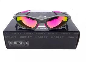 9b9817add Oculos Oakley Juliet Penny Rosa Polarizada Cx Preta Promoção. R$ 120. 12x R$  10 sem juros
