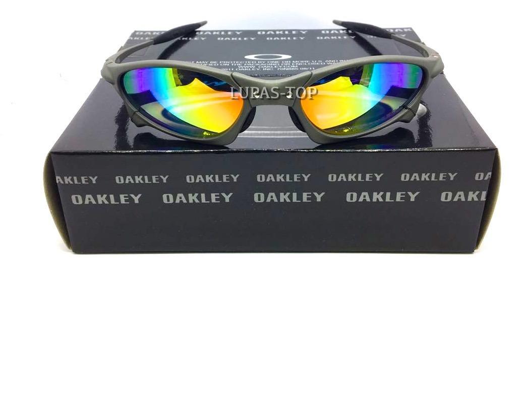 0a48fe7c9f928 óculos oakley juliet penny xmetal arco íris + lente extra. Carregando zoom.