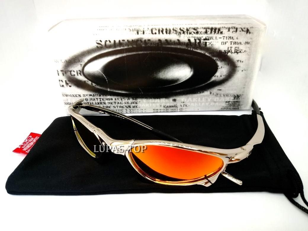 06be06a73a2e6 óculos oakley juliet penny xmetal fire red cromada plasma. Carregando zoom.