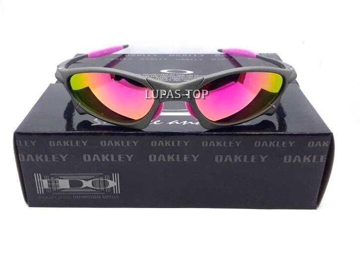 1b419c92f87e6 Óculos Oakley Juliet Penny Xmetal Lente Rosa Pink Feminina - R  120 ...