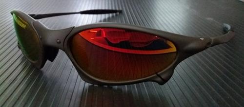 oculos oakley juliet penny xmetal lente ruby  12x sem jrs
