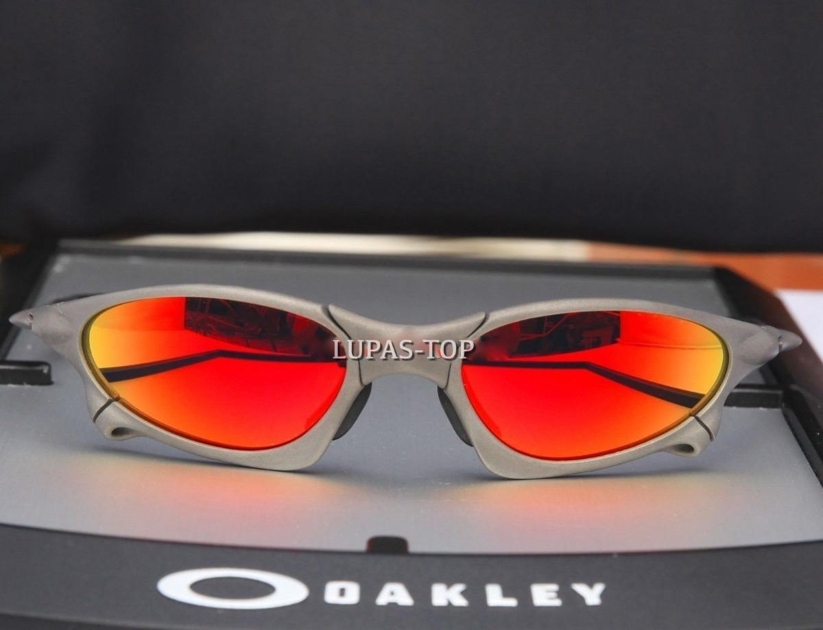 b5899dabc7a7a óculos oakley juliet penny xmetal ruby fire red vermelha top. Carregando  zoom.