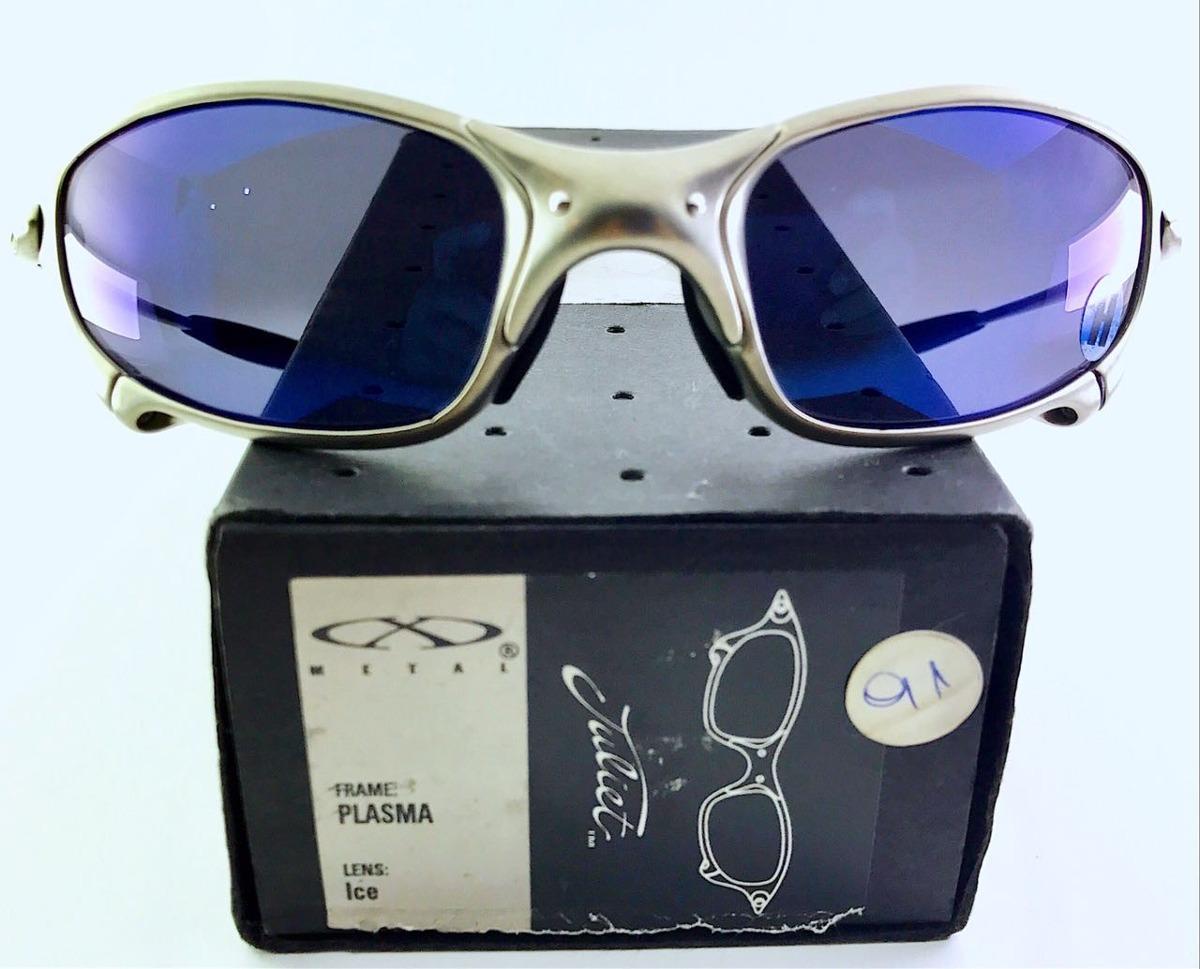 07a7f79528265 Óculos Oakley Juliet Plasma Ice Iridium 100% Original - R  2.500,00 ...