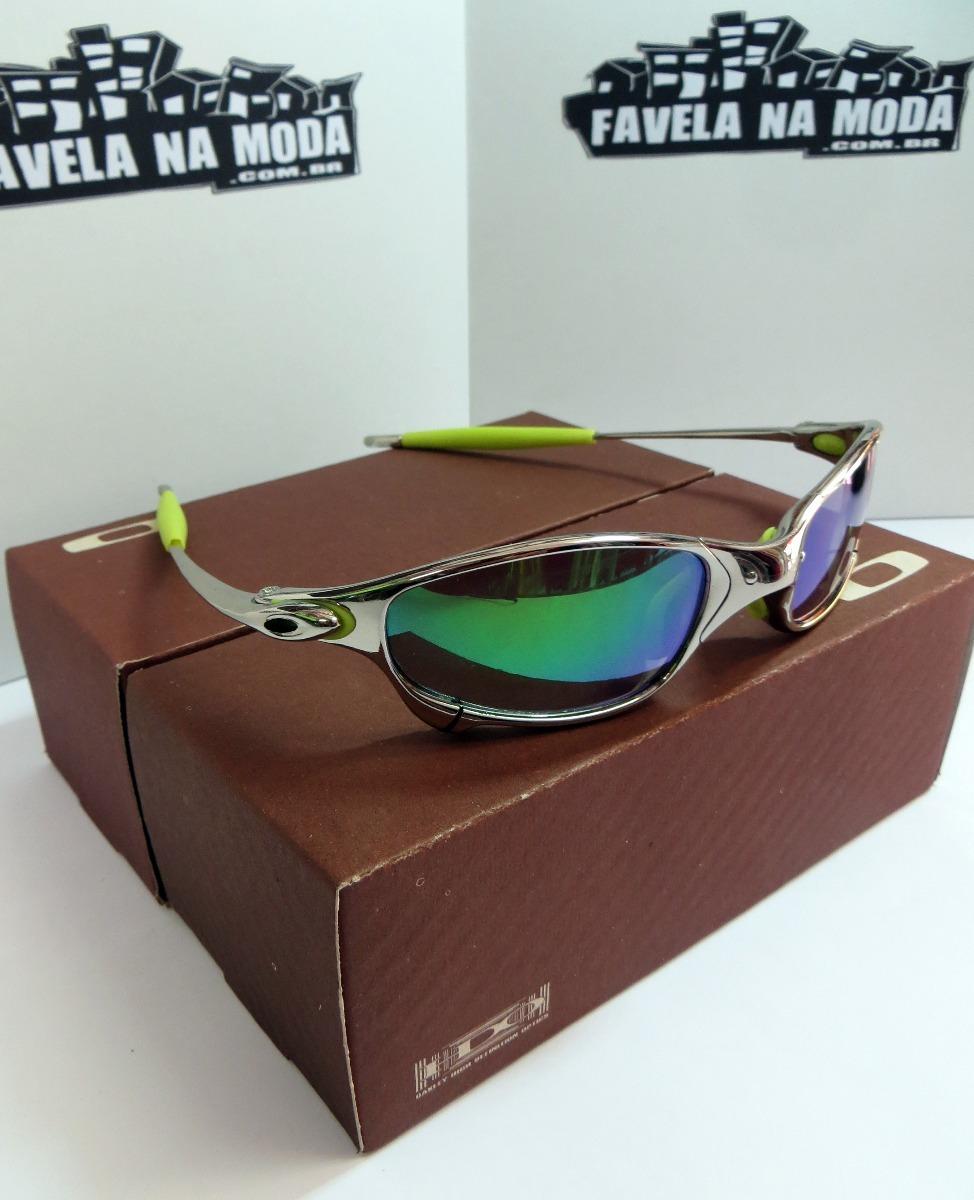 óculos oakley juliet   polished   green jade + par de lentes. Carregando  zoom. 5166245a4c