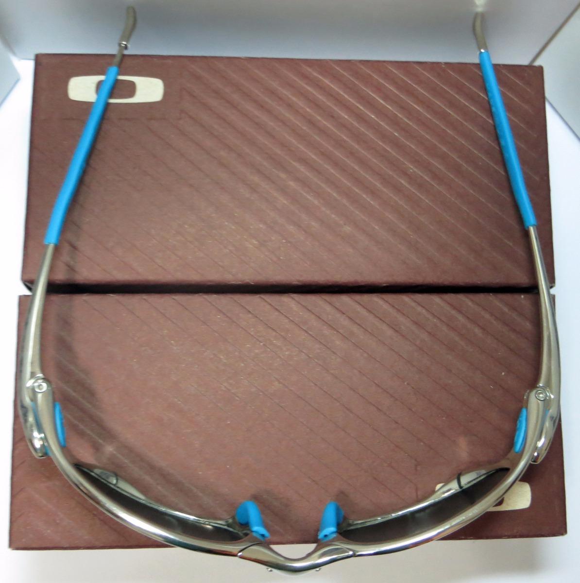 óculos oakley juliet   polished   ice thug + par de lentes. Carregando zoom. e844ea4763