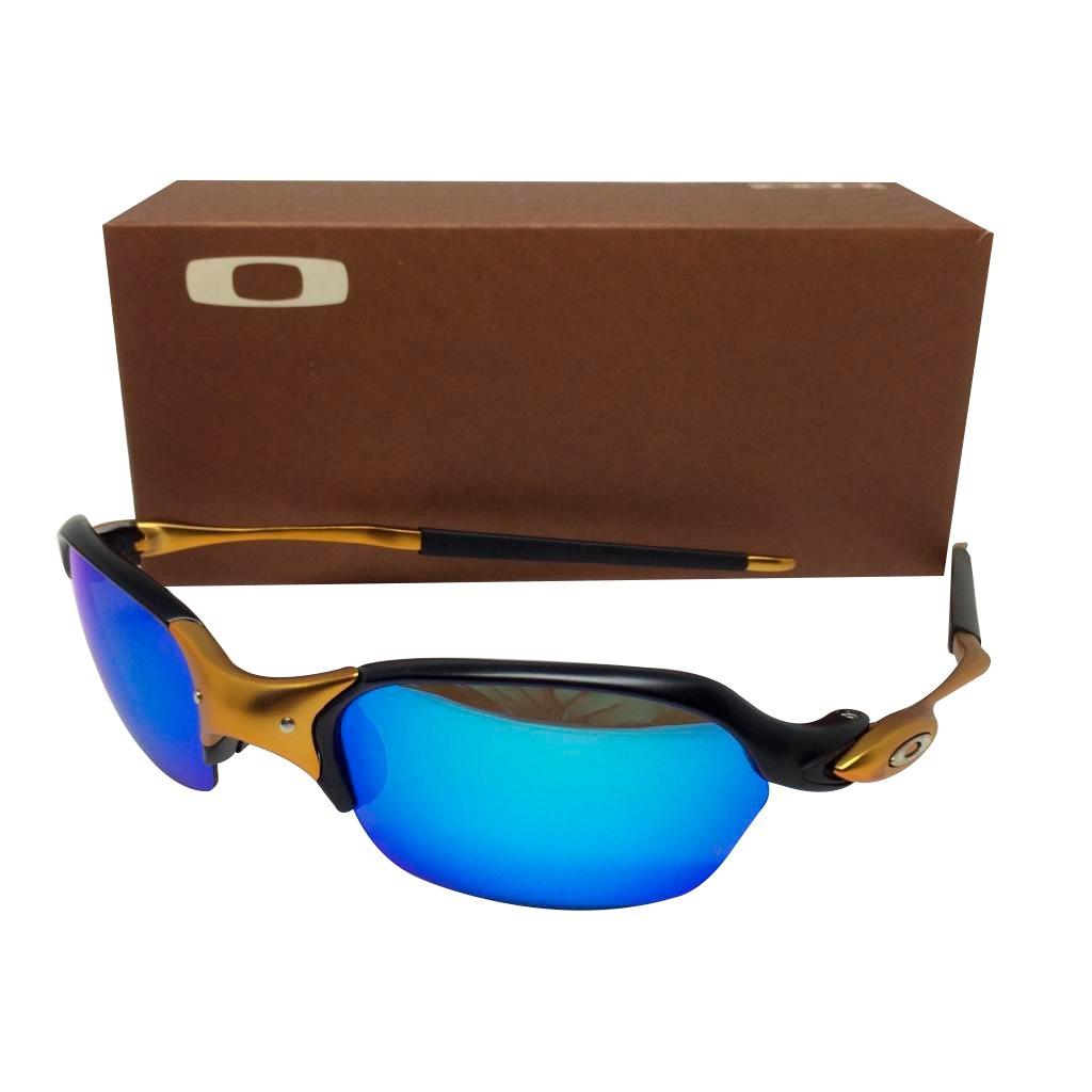 Oculos Oakley Juliet Romeo 2 Black 24k Lente Azul - R  175,00 em ... f4db5cd1cd