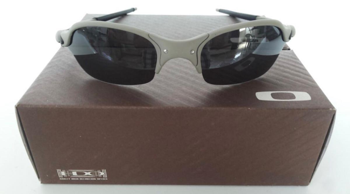 6fa79f6a97815 oculos oakley juliet romeo 2 x metal lentes black preta. Carregando zoom.
