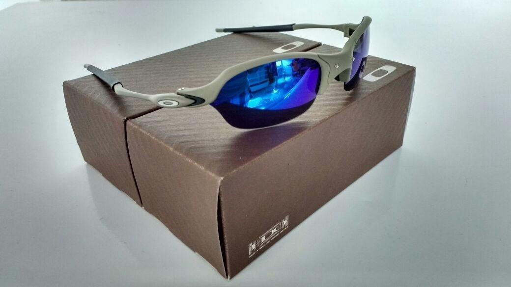 f9aeb7f306163 óculos oakley juliet romeo 2 xmetal lente magic blue azul!! Carregando zoom.