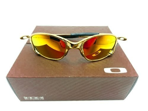 Óculos Oakley Juliet Romeo 24k Squared Double X Promoção! - R  89,00 ... 9fc9d67b26