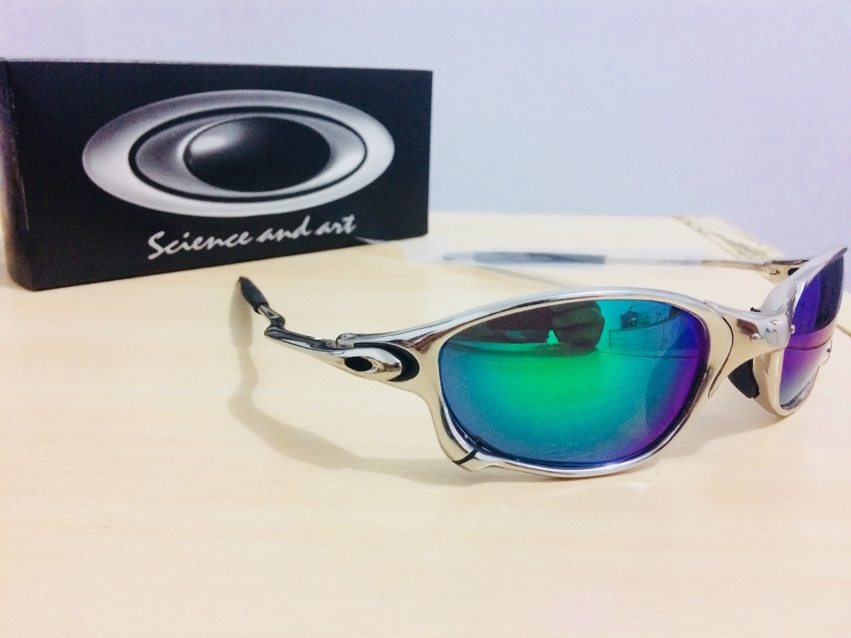 Óculos Oakley Juliet Romeo Verde roxa Imperdível - R  110,00 em ... 188b006f4c