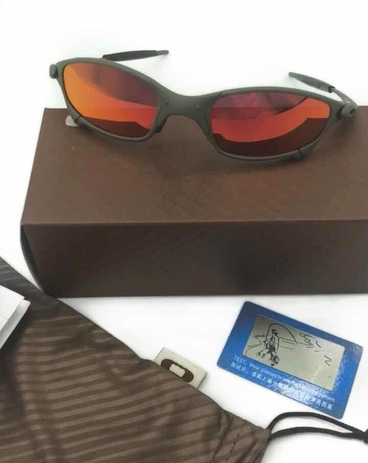 Óculos Oakley Juliet Ruby 100% Polarizado - R  99,00 em Mercado Livre e53f7444db