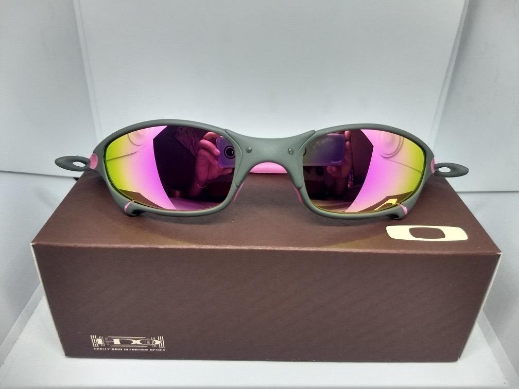 a490e5f83 óculos oakley juliet ruby arco íris penny metal double romeo. Carregando  zoom.