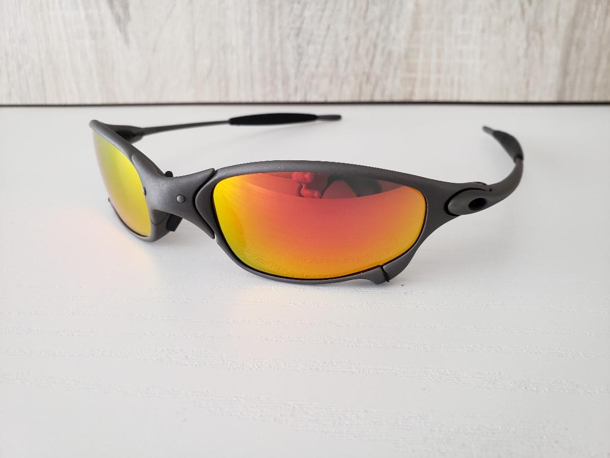 oculos oakley juliet ruby ciclope x man original. Carregando zoom. 9c9326333b6