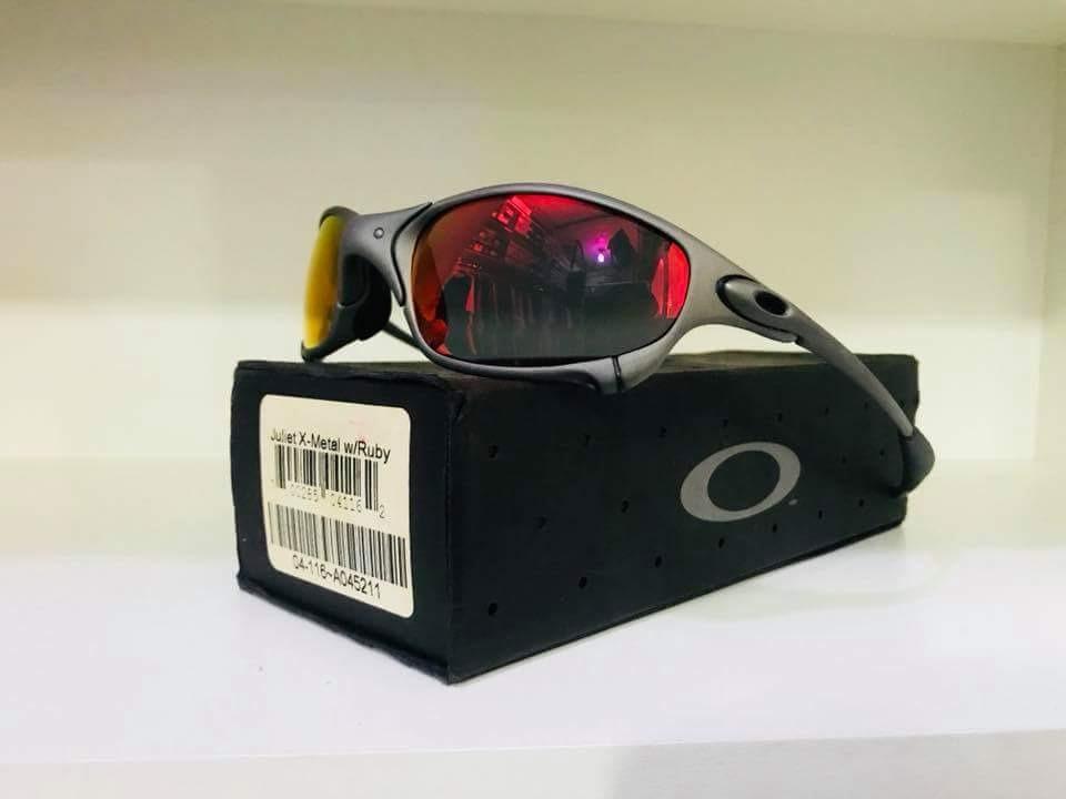 e8c4fdbb3b01d Óculos Oakley Juliet Ruby Completa Original - R  1.599,00 em Mercado ...