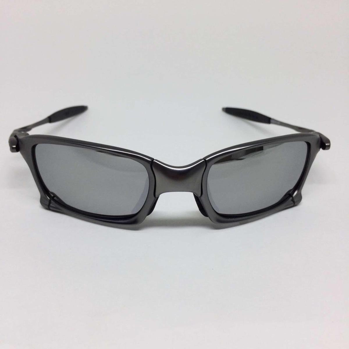 oculos oakley juliet squared armação grafite lente prata. Carregando zoom. a1811f2003