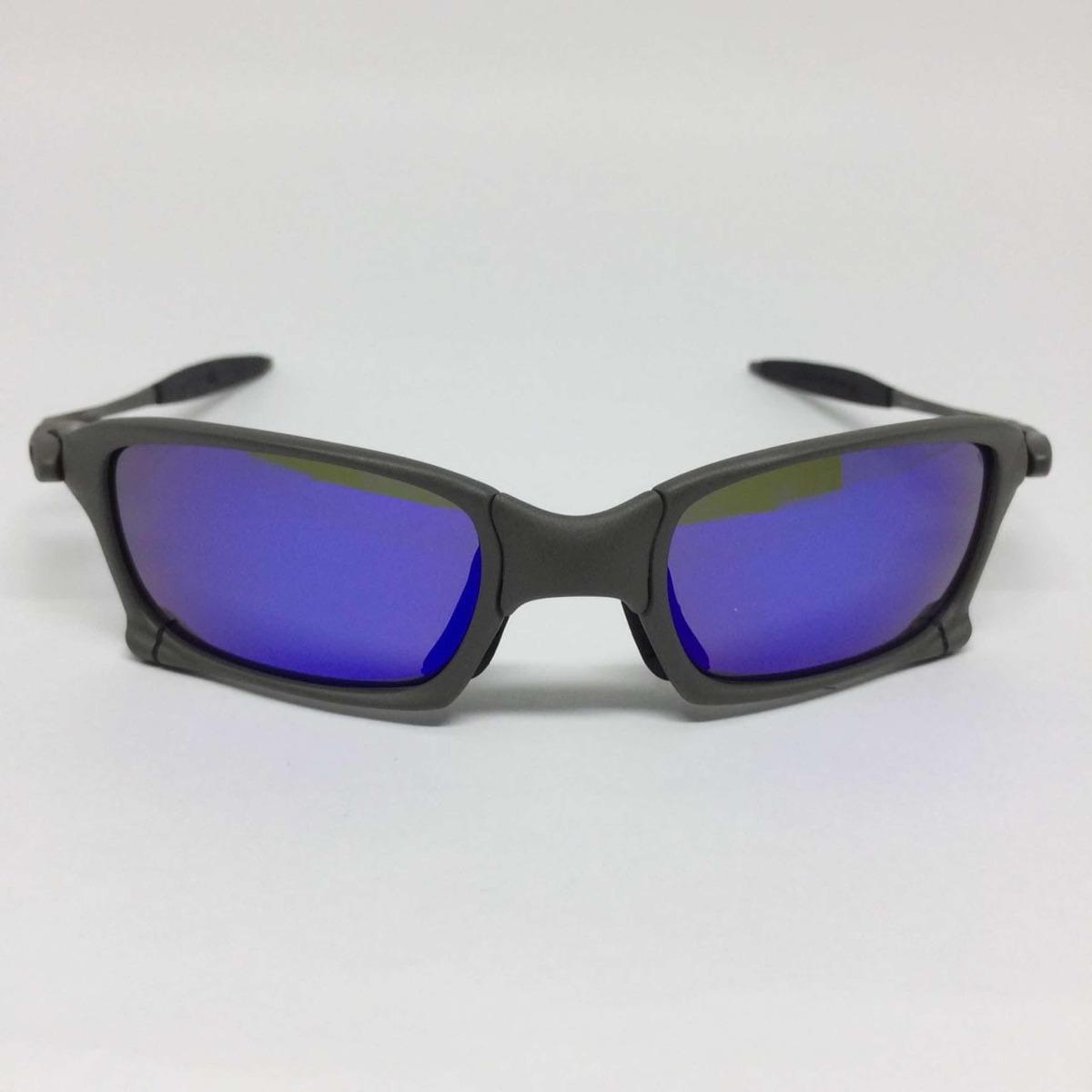 56990a0f1b oculos oakley juliet squared xmetal lente roxa polarizadas. Carregando zoom.