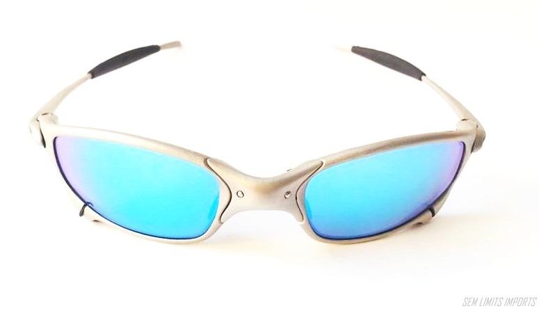 ba97d3e9814a6 Oculos Oakley Juliet Titanium Frete Gratis Oferta Original - R ...