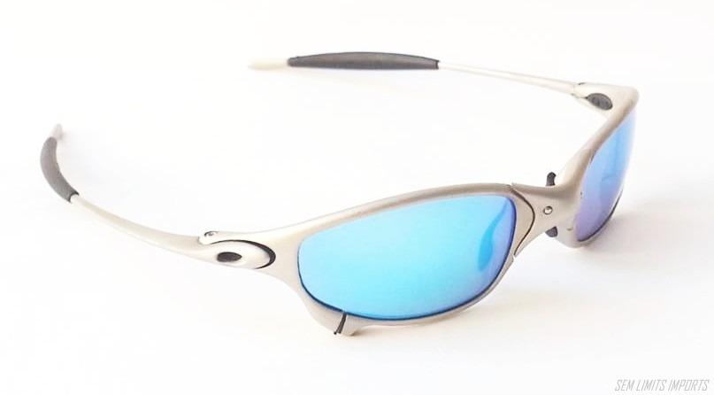 168254709caf2 oculos oakley juliet titanium frete gratis oferta original. Carregando zoom.