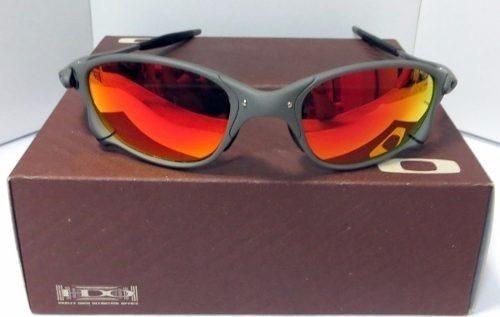 99988e2d1 Óculos Oakley Juliet X Metal Dark Rubi - R$ 260,00 em Mercado Livre