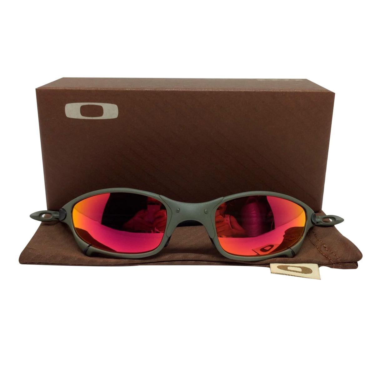ef6bb9f6d óculos oakley juliet x metal dark ruby frete grátis 2019. Carregando zoom.