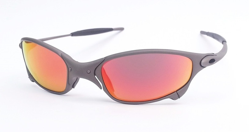 oculos oakley juliet x metal dark ruby titanium original. Carregando zoom. 07b2623428
